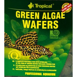 TROPICAL GREEN ALGAE WAFERS 100g LUZ