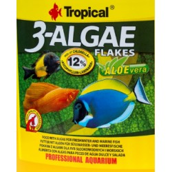 TROPICAL 3-ALGAE FLAKES 120G  LUZ