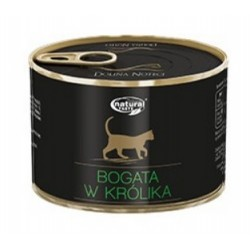 DOLINA NOTECI NATURAL TASTE CAT BOGATA W KRÓLIKA 185G