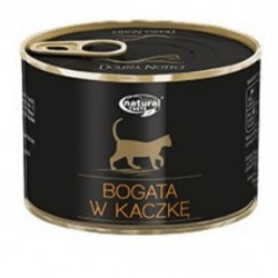 DOLINA NOTECI NATURAL TASTE CAT BOGATA W KACZKĘ 185G