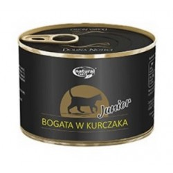 DOLINA NOTECI NATURAL TASTE CAT JUNIOR BOGATA W KURCZAKA 185G