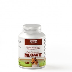 MIKITA PET CALCIUM MEGAVIT 50 TABLETEK