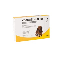 ZOETIS CONTROLINE SPOT ON S 2- 10KG (3 X 67MG)
