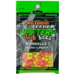 LORPIO WAFTERS HOOK BAITS DUMBELLS 7X10 COCONUT & PINEAPPLE 15G DD-008-003