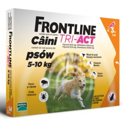 FRONTLINE TRI-ACT S 5-10 KG (PIPETA 3 X 1 ML)