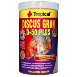 TROPICAL DISCUS GRANULOWANY D-50 PLUS 100G NA WAGĘ