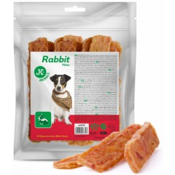 JK ANIMALS MEAT SNACK RABBIT FILLETS 500G FILET KRÓLIK, PRZYSMAK DLA PSA 44978