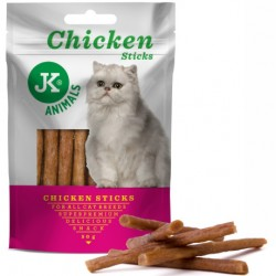 JK ANIMALS MEAT SNACK CAT CHICKEN STICKS 50G PALUSZKI Z KURCZAKA, PRZYSMAK DLA KOTA 55041