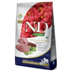FARMINA N&D QUINOA WEIGHT MANAGEMENT LAMB & BROCCOLI ADULT 1 KG NA WAGĘ JAGNIĘCINA