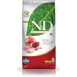 FARMINA N&D CHICKEN POMEGRANATE KITTEN CAT 1 KG NA WAGĘ DLA KOCIĄT