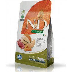 FARMINA N&D PUMPKIN DUCK CANTALOUPE ADULT CAT 1 KG NA WAGĘ Z KACZKĄ