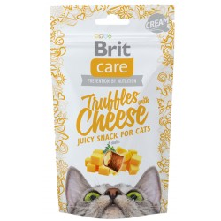 BRIT CARE CAT SNACK TRUFFLES CHEESE 50 G PRZYSMAK DLA KOTA Z SEREM