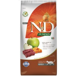FARMINA N&D VENISON APPLE PUMPKIN ADULT CAT 1 KG NA WAGĘ JELEŃ JABŁKO DYNIA BEZ ZBÓŻ