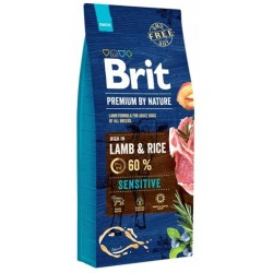 BRIT PREMIUM BY NATURE SENSITIVE LAMB DOG 1 KG NA WAGĘ JAGNIĘCINA Z RYŻEM